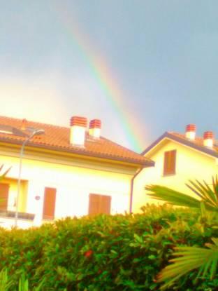arcobaleno in vista