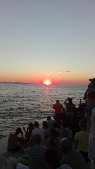 tramonto a Zara
