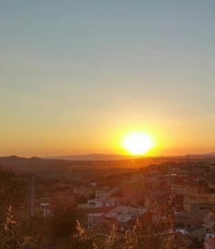 tramonto a cuccullio