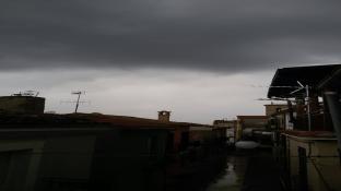 temporale in arrivo su Perano CH
