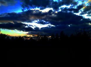 tramonto di novembre