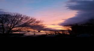 Lovoleto all'alba