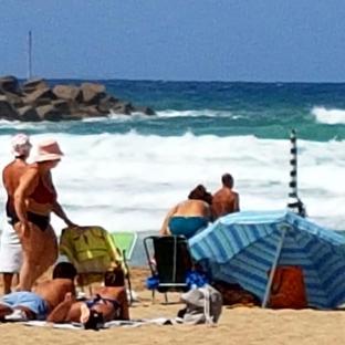 Spiaggia magaggiari -terrasini