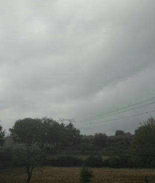 Un po' di pioggia era ora