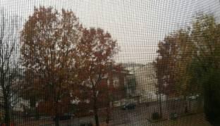 Piove guarda come piove senti come piove