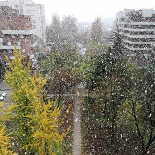 Meteo L Aquila: pioggia mista a neve venerdì, neve nel weekend