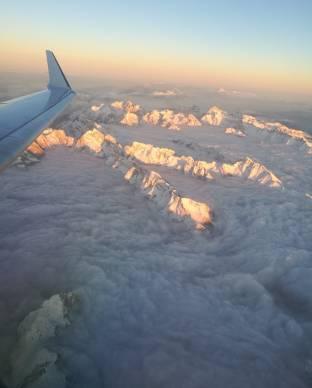 La neve dall alto