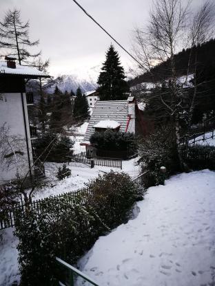 La neve e' tornata