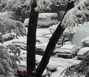 Nevicata a roma 27 febbraio 2018
