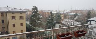 Neve a modena il 19 marzo