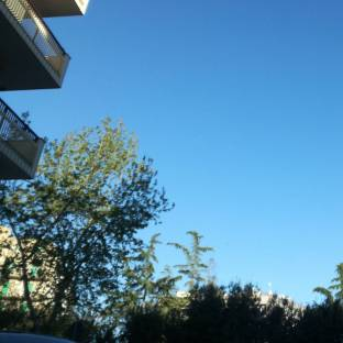 Ore 18.14 cielo sereno e vento a 14 kmh
