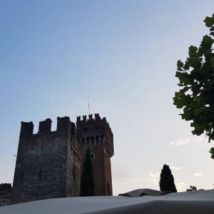 Castello di lazise sereno