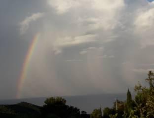 Pioggia arcobaleno