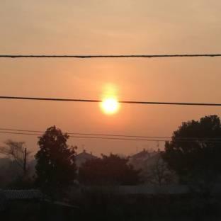 Il sole dopo la nebbia...