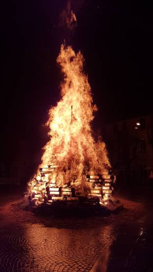 La giubiana arsa