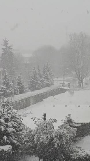 Neve intensa a cuneo