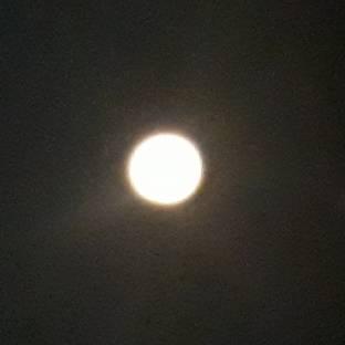 Notte di luna piena 10 gennaio 2020