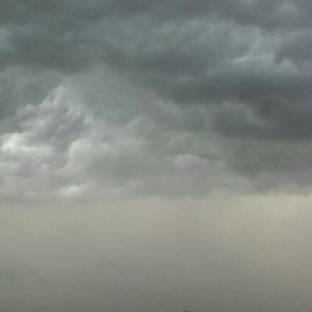 Inizia il temporale