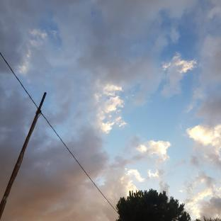 Qualche goccia nubi sparse