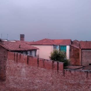 Temporale ad Asti