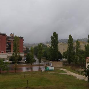 Pioggia a Perugia