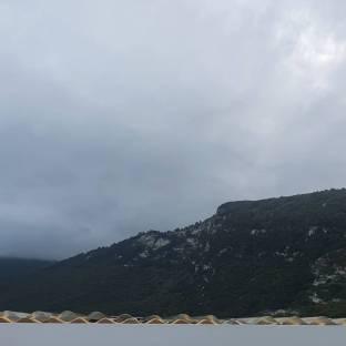 Pioggia improvvisa a portonovo