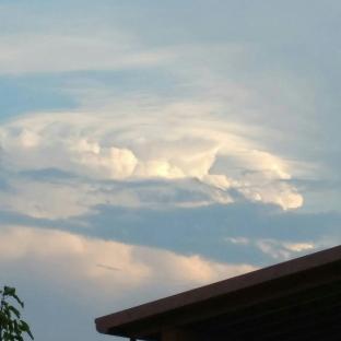 Una piccola nuvolona