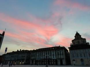 Nuvolette rosa