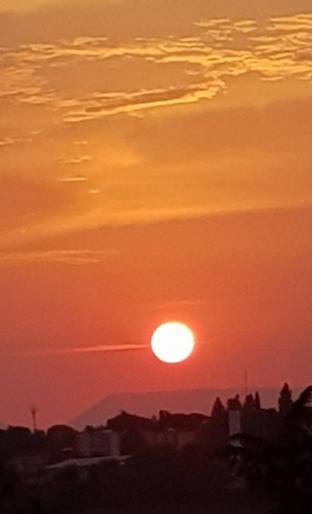 Rosso di sera.......