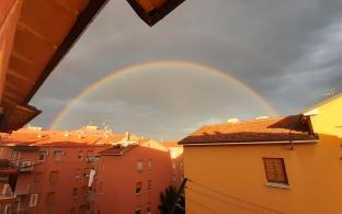 Arcobaleno a bologna