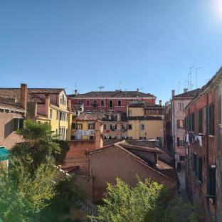 Bellissima giornata chiara abbiamo fatto le lavatrici venezia cannaregio