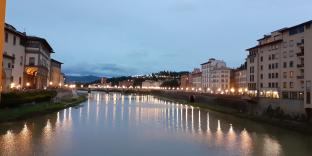 Lights on the arno