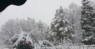 Mombello con neve