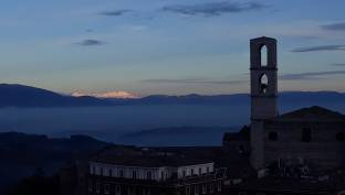 Panorama da piazza italia