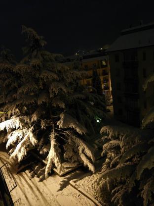 La magia della neve