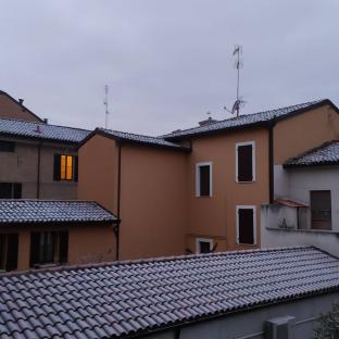 Inverno fra i tetti