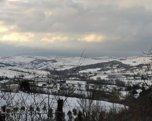 Ancora freddo e neve a lavangone con -6