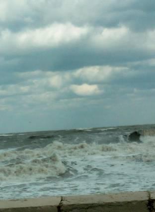 Mare infuriato...