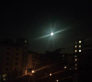 Luna piena - fotosegnalazione di golosine verona
