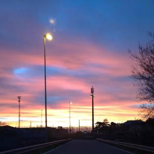 Un alba piena di colori