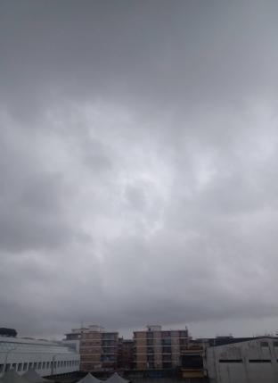 Nuvoloso molto
