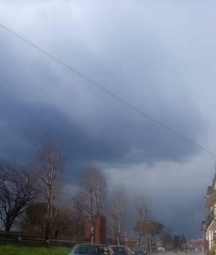 Forse arriva un temporale