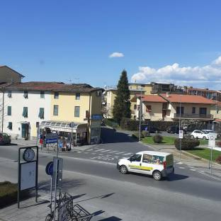 Lucca sereno giornata un po' fresca
