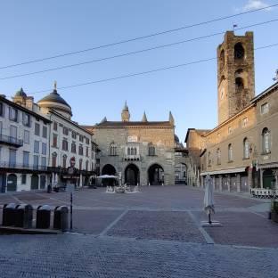 Piazza vecchia - citta' alta
