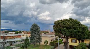 Nuvole in avvicinamento