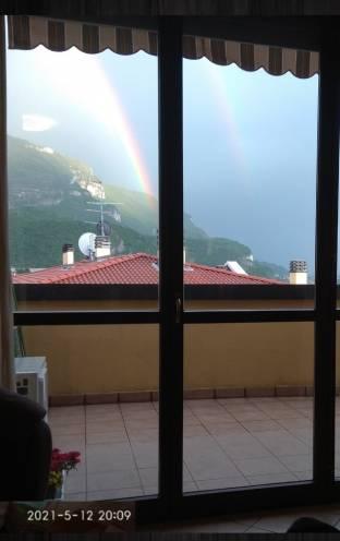 Acquate. arcobaleno visto da casa mia.