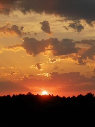 Rosso di sera bel tempo si spera.