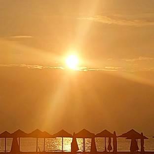 Miramare beach ore 6.00