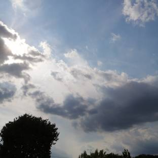Aumento nuvolosita'