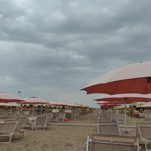 Nuvoloso su Rimini